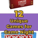 12 Unique Games for Game Night